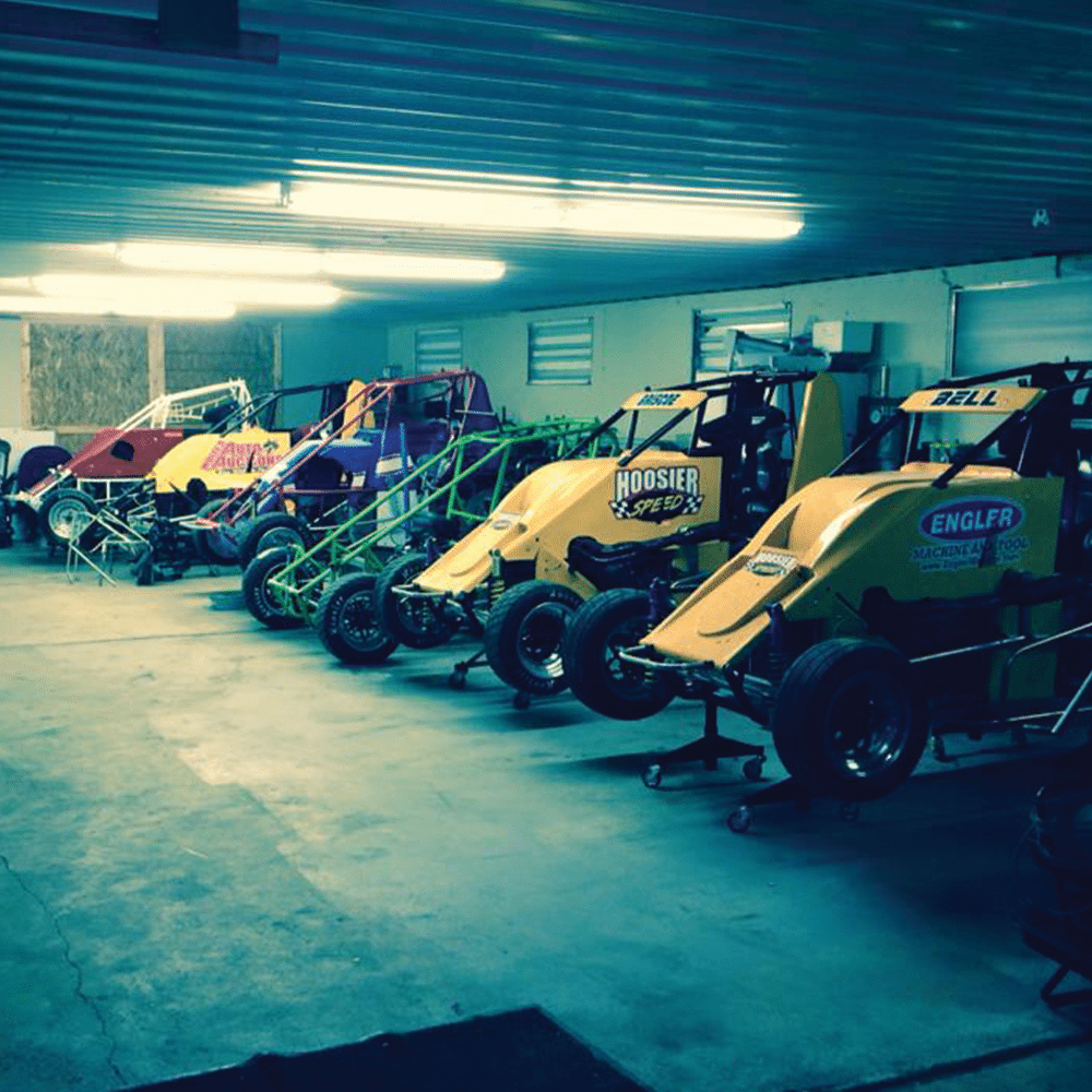 The Hoosier Speed Shop in Bloomington, Indiana is a full service fabrication shop specializing in Lightning Sprints.