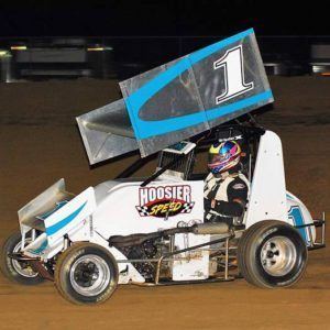 Lynn Ambrose Hoosier Speed win Lincoln Park Speedway